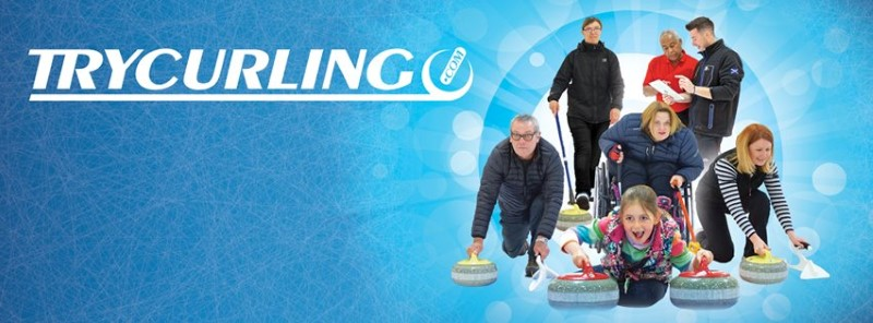Try Curling banner